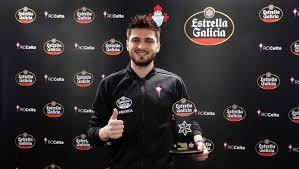 Okay Yokuşlu, footballer of the month in Celta Vigo