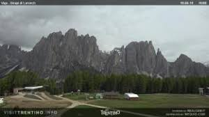 Weather VIGO DI FASSA today rain, thunderstorms Wednesday and sunny, thursday 30 rain